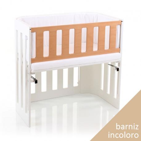 Barrera para minicuna Babybay Trend Barniz incoloro