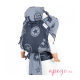 Fidella Fly Tai Babysize outerspace blue capucha
