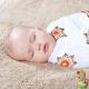 Muselinas Aden + Anais Bamboo Mela roseta bebé