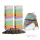Pack 20 pañales Todo en Dos Pop in unitalla colores pastel