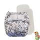 Rellenable Deluxe velcro absorbentes remolinos