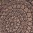 Fidella Mosaic mocha brown
