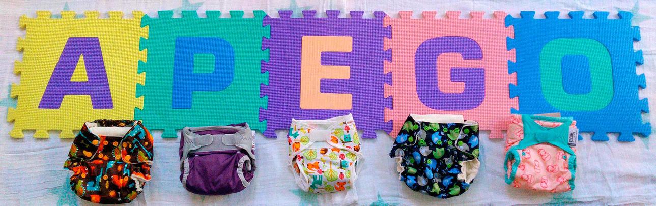Pañales de tela, ecológicos y saludables para tu bebé