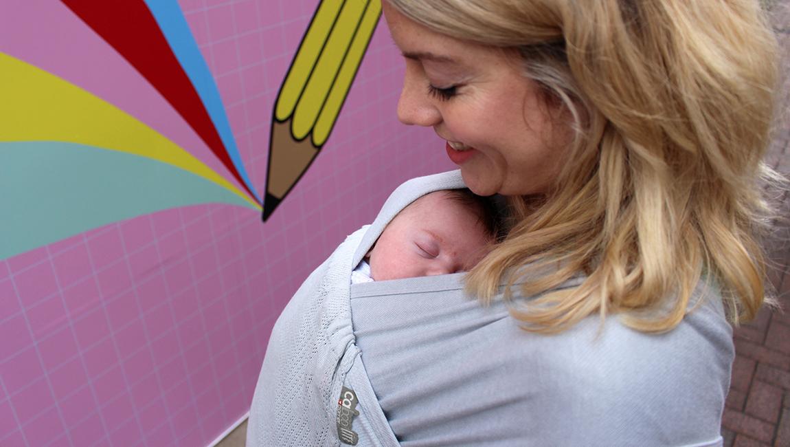 Portabebés ergonómico Caboo Lite recién nacido