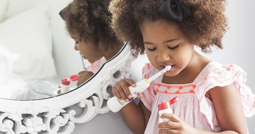 Cepillo de dientes infantil eléctrico Jack n' Jill