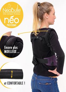 Mochila ergonómica Néobulle para bebés de 3,5 a 15 kg.