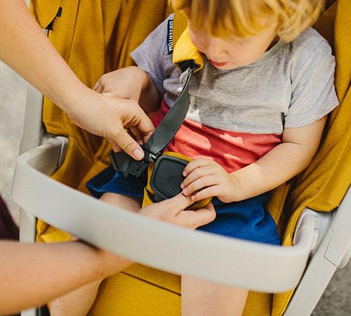 Arnés silla de paseo Greentom Classic